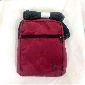 JSC Burgundy Side Bag
